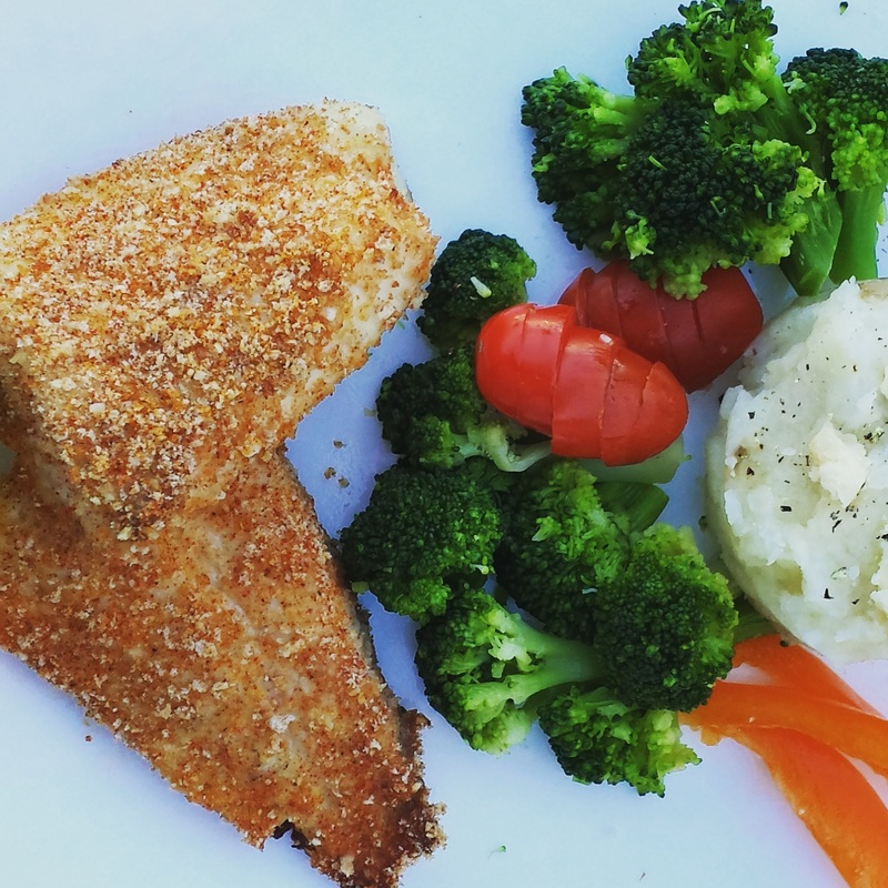 Parmesan crusted tilapia the meals maven for Parmesan crusted fish